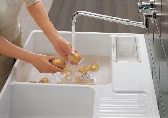 керамическая мойка для кухни отзывы цена