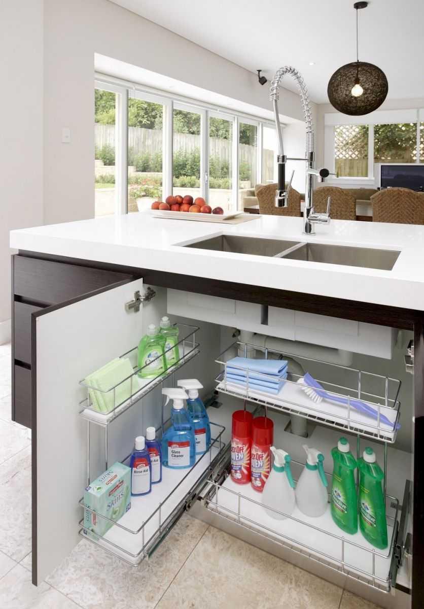 Хранение на кухне: 15 лайфхаков