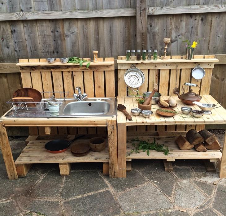 Простая летняя кухня своими руками, как лучше сделать по фото и чертежам