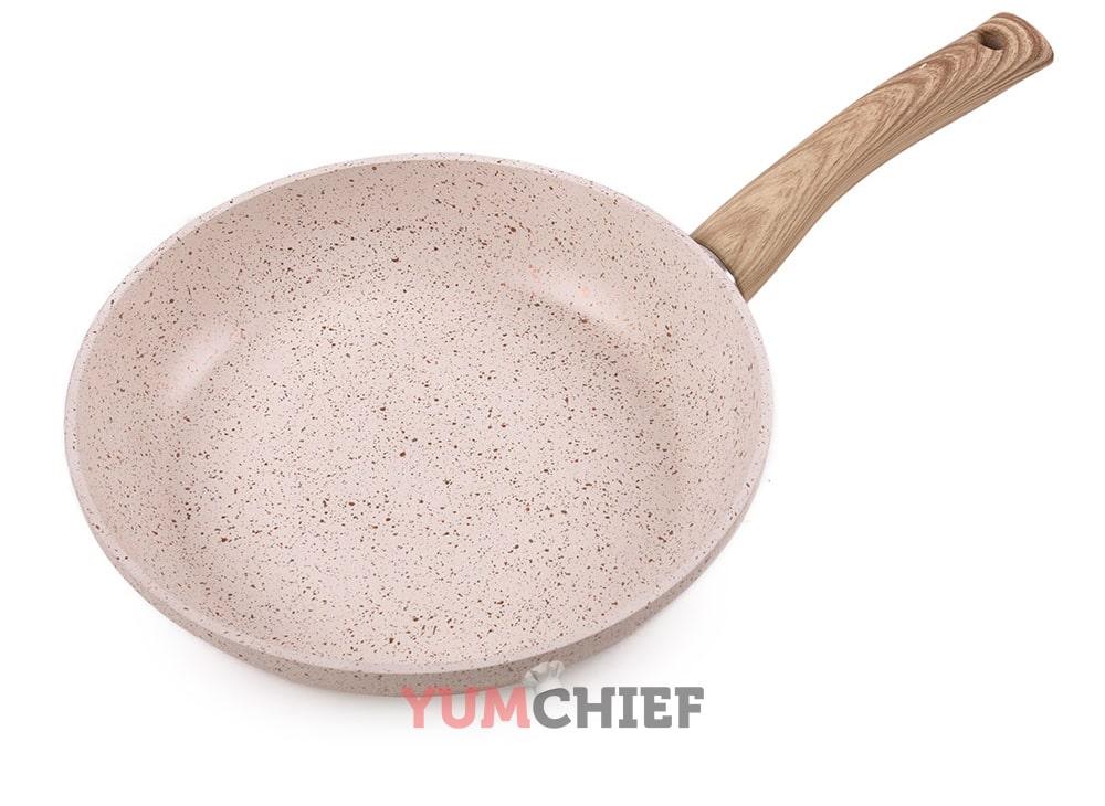 Мраморное покрытие сковородки