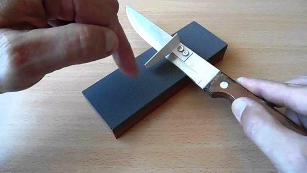 Как правильно точить ножи дома