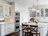 Белая мебель на кухне — красивый и практичный дизайн (88 фото )