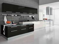 Черный цвет в интерьере кухни — Строгий дизайн современного интерьера + 80 фото