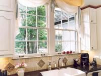 Декор кухонного окна — оформляем со вкусом, 80 фото новинок дизайна