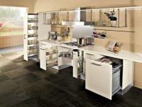 Фурнитура для кухонной мебели — разновидности и секреты выбора (65 фото)