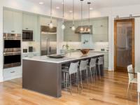 Как расставить мебель на кухне: советы профессионалов учитывающие все необходимое + 78 фото