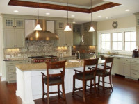 Кухня бежевого цвета — Нежный тон для красивого дизайна + 85 фото