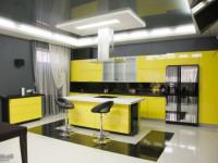 Кухня лимонного цвета — Оригинальное оформление в современном дизайне + 89 фото