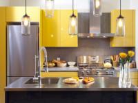 Кухня с золотым оттенком — 65 красивых фото идей оформления интерьера