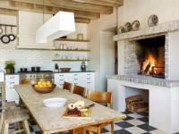 Кухня в старинном стиле — удивительные идеи домашнего декора (77 фото + видео)