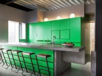 Кухня зеленого цвета — Оживленный интерьер в лучших совмещениях цвета + 77 фото