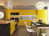 Кухня желтого цвета — идеальное сочетание теплых тонов в интерьере кухни (60 фото)