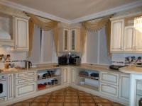 Ламбрекены на кухню — как выбрать и советы идеального сочетания (75 фото)