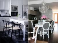 Обеденные группы для маленькой кухни — 70 фото стильных миксов и дизайна!