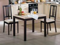 Обеденный стол для кухни — 62 фото лучших идей небольших кухонных столов