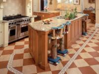 Пол на кухне — каким он должен быть? Обзор лучших дизайнерских решений!
