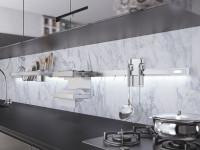 Рейлинги для кухни — безупречный и стильный дизайн. 80 фото новинок 2019 года!