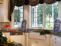 Шторы на кухню — обзор современных новинок (95 фото)