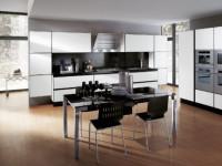 Современная кухня в стиле Хай-Тек — как создать уникальный интерьер в 2021 году? 110 лучших фото идей