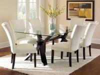 Стеклянные столы для кухни — выбираем стильный стол и подбираем стулья + 77 фото