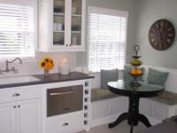 Угловая мебель для кухни — особенности идеального сочетания в интерьере (99 фото)