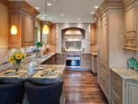 Узкая кухня — грамотная планирована, фото лучших дизайн-проектов