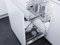 Выдвижные системы для кухни — какие они бывают? 75 фото идей и новинок по дизайну!