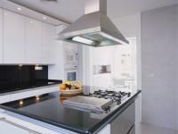 Вытяжка для кухни с воздуховодом: критерии выбора. 75 фото в интерьере.