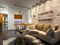 Кухня в квартире-студии — как правильно ее оформить? 99 фото примеров.