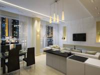 Дизайн кухни в стиле минимализм: как подобрать кухонный гарнитур,  мебель, шторы  115 лучших реальных фото