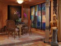 Кухня в египетском стиле — нестандартный дизайн с изюминкой (45 фото)