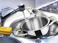 Отмываем пригоревшую кастрюлю — самые эффективные народные способы и химические средства