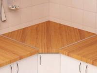 Устанавливаем столешницу на кухонный гарнитур своими руками — подробная инструкция