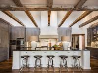 Деревенский стиль для кухни — теплый, уютный и простой дизайн интерьера (92 фото)