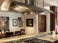 Декор газовой трубы в кухне: как скрыть не пряча в стену? 54 фото идей и красивых решений
