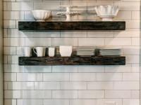 Полки для кухни — как сделать самостоятельно? Основные идеи конструкций и дизайна + 58 фото