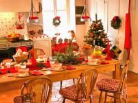 Как правильно украсить кухню к Новому году: ТОП 50 фото идей 2021 года