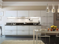 Алюминиевые фасады для кухни: преимущества, стильность, практичность, 55+ лучших фото