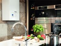 Маленькая кухня с газовой колонкой : как лучше разместить колонку для расширения полезного пространства, 55 фото