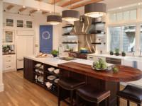 Дизайн островных кухонь (105+ реальных фото)