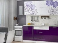 Дизайн фиолетовой кухни: фото примеры реальных интерьеров