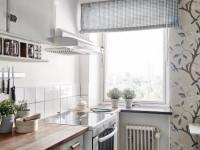 Как выбрать обои для маленькой кухни, советы и рекомендации
