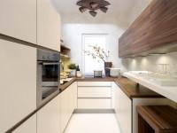 Дизайн узкой кухни:  фото красивых интерьеров + советы дизайнера