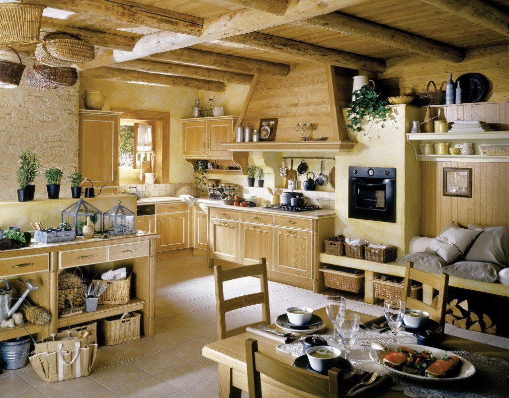 кухня под дерево