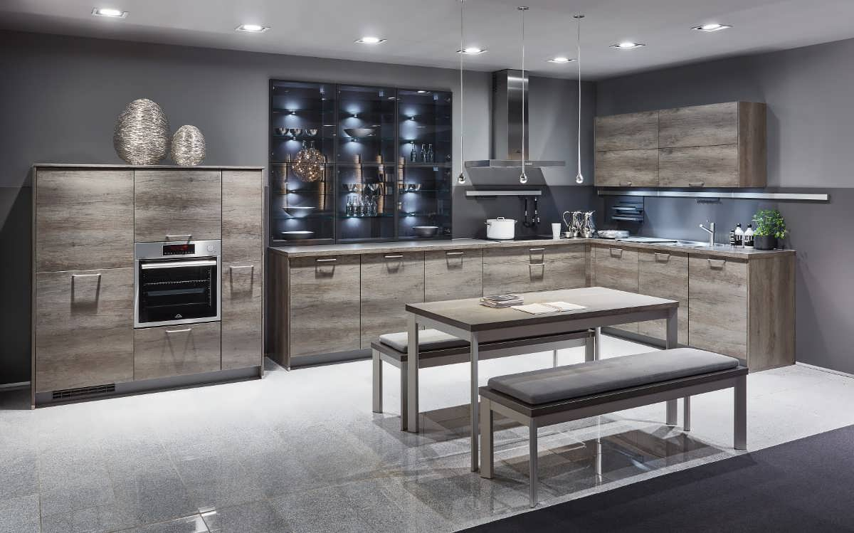 Стиль кухни минимализм