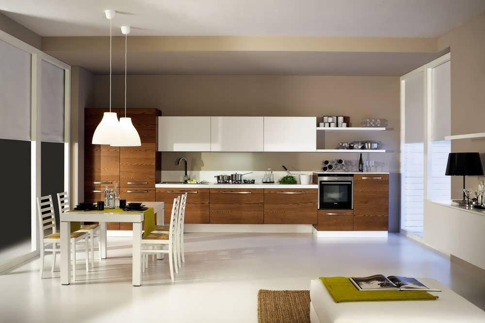 Кухни минимализм фото
