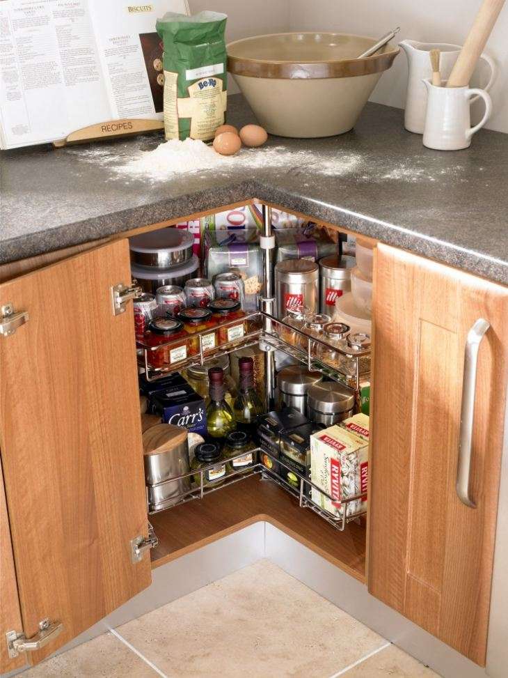 Угловые ящики для кухни своими руками 111