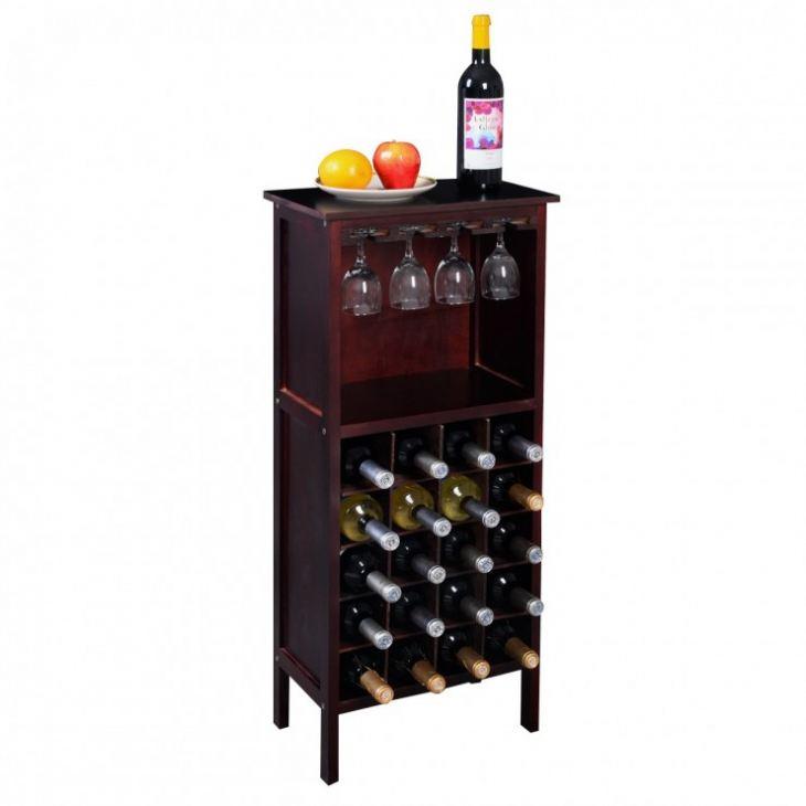 Шкаф бутылочница для кухни