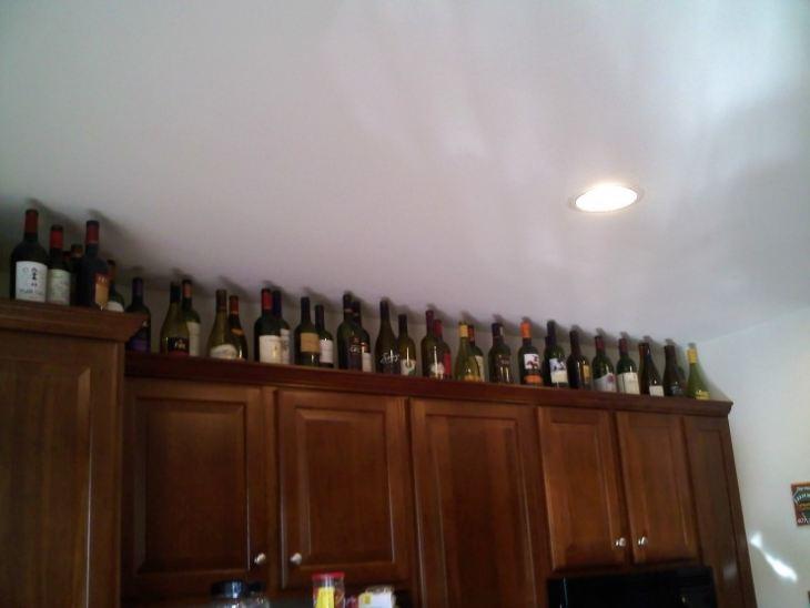 Бутылочница для кухни фото