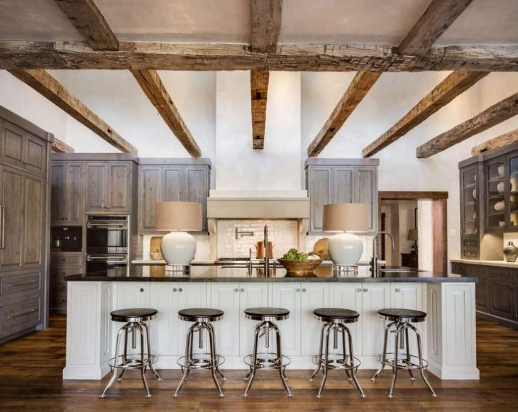 Деревенский стиль для кухни